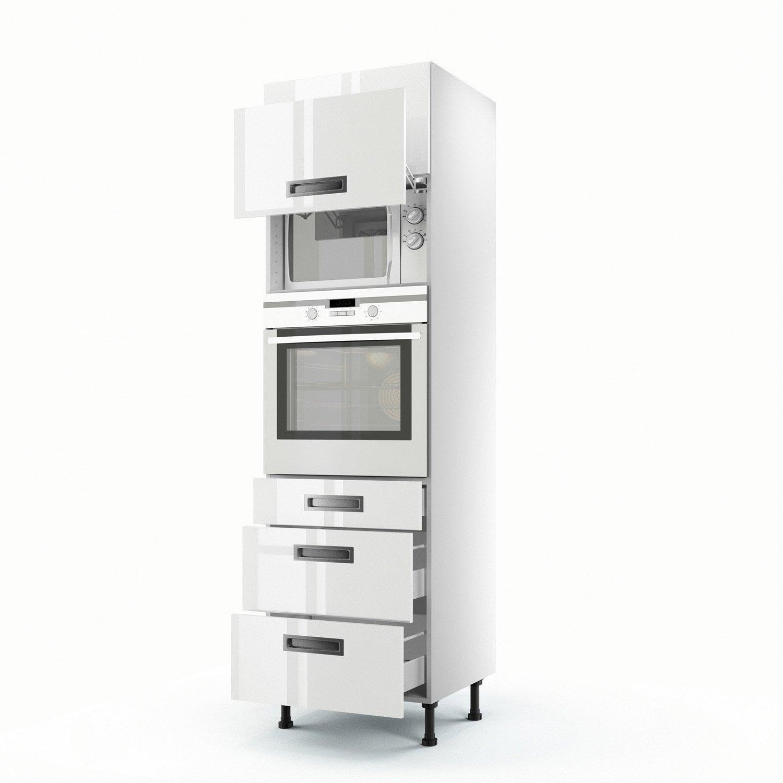Meuble colonne cuisine tiroir for Meuble colonne a tiroir