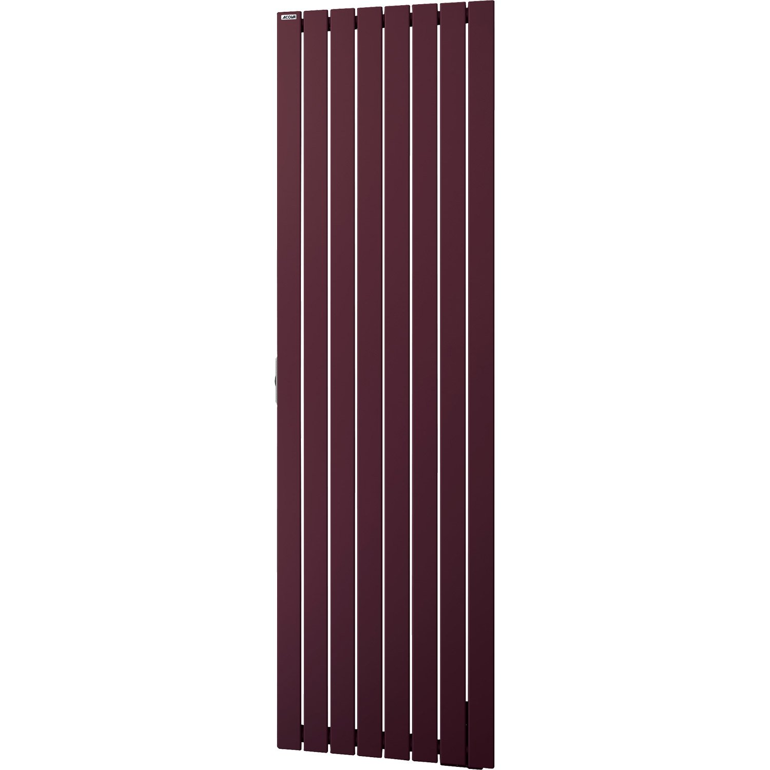 radiateur lectrique inertie fluide acova lina darck purple vertical 1500 w. Black Bedroom Furniture Sets. Home Design Ideas