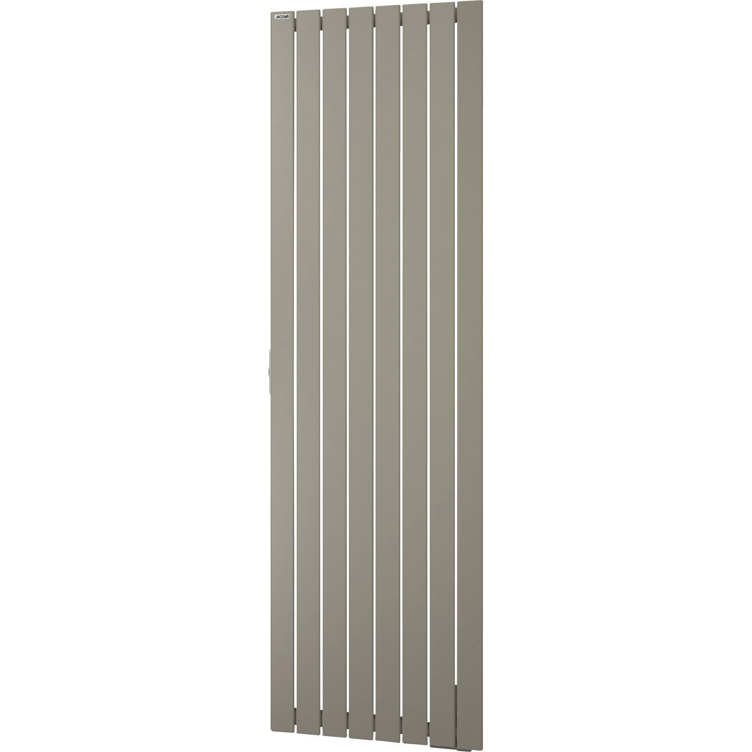 radiateur lectrique inertie fluide acova lina manattan vertical 1500 w leroy merlin. Black Bedroom Furniture Sets. Home Design Ideas