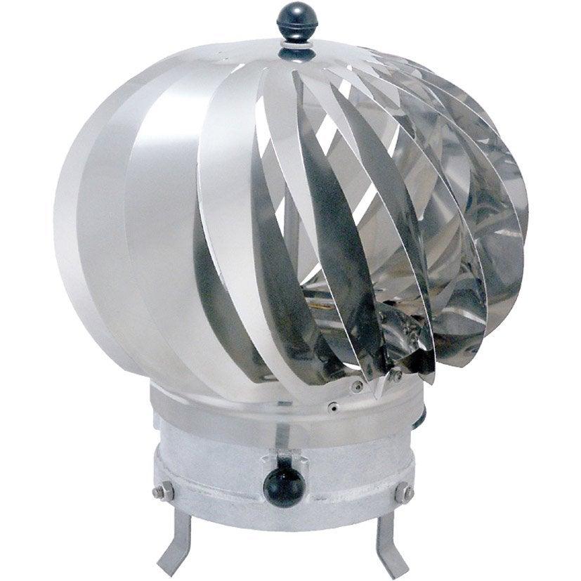Chapeau aspirateur isotip joncoux 150 mm leroy merlin for Chapeau pour cheminee exterieur