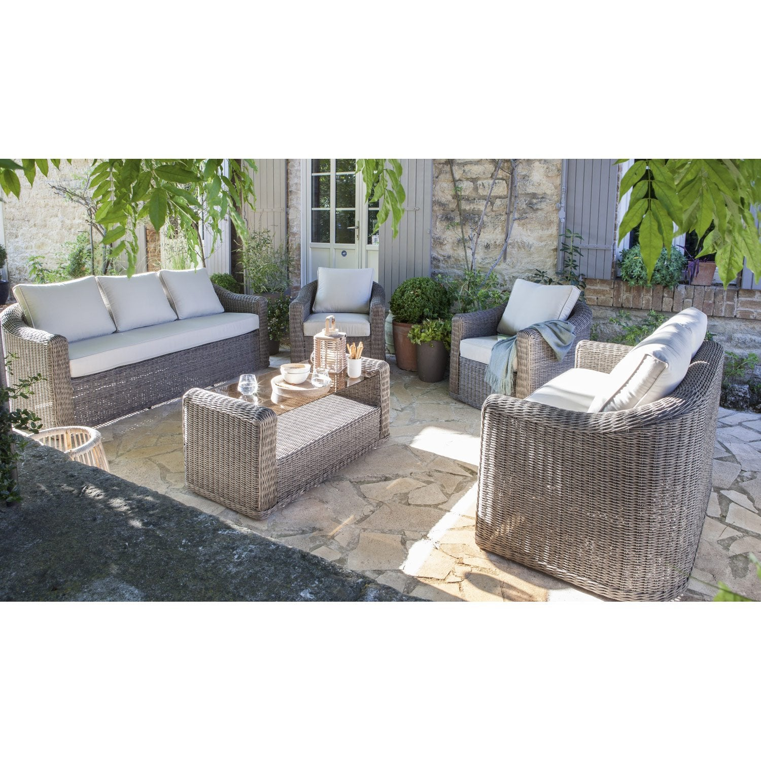 Ensemble table et chaise de jardin leroy merlin obtenez for Chaise jardin leroy merlin