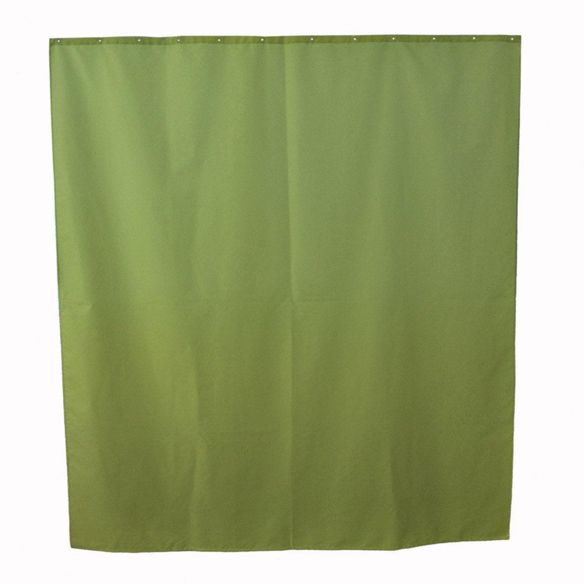 Rideau de douche en tissu x cm jaune anis n 3 for Rideau de douche en tissu