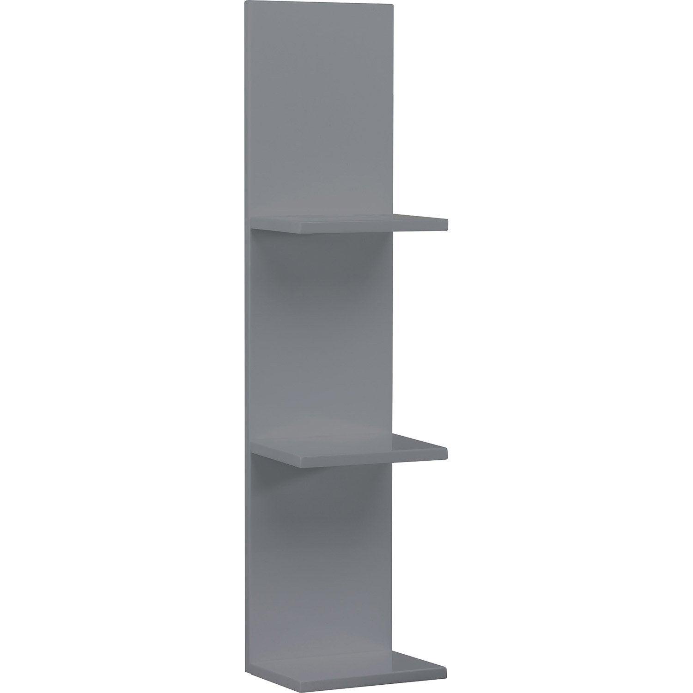 etag re de wc x x cm gris sensea. Black Bedroom Furniture Sets. Home Design Ideas