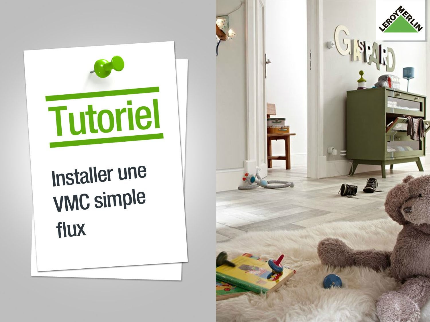 comment installer une vmc simple flux leroy merlin. Black Bedroom Furniture Sets. Home Design Ideas