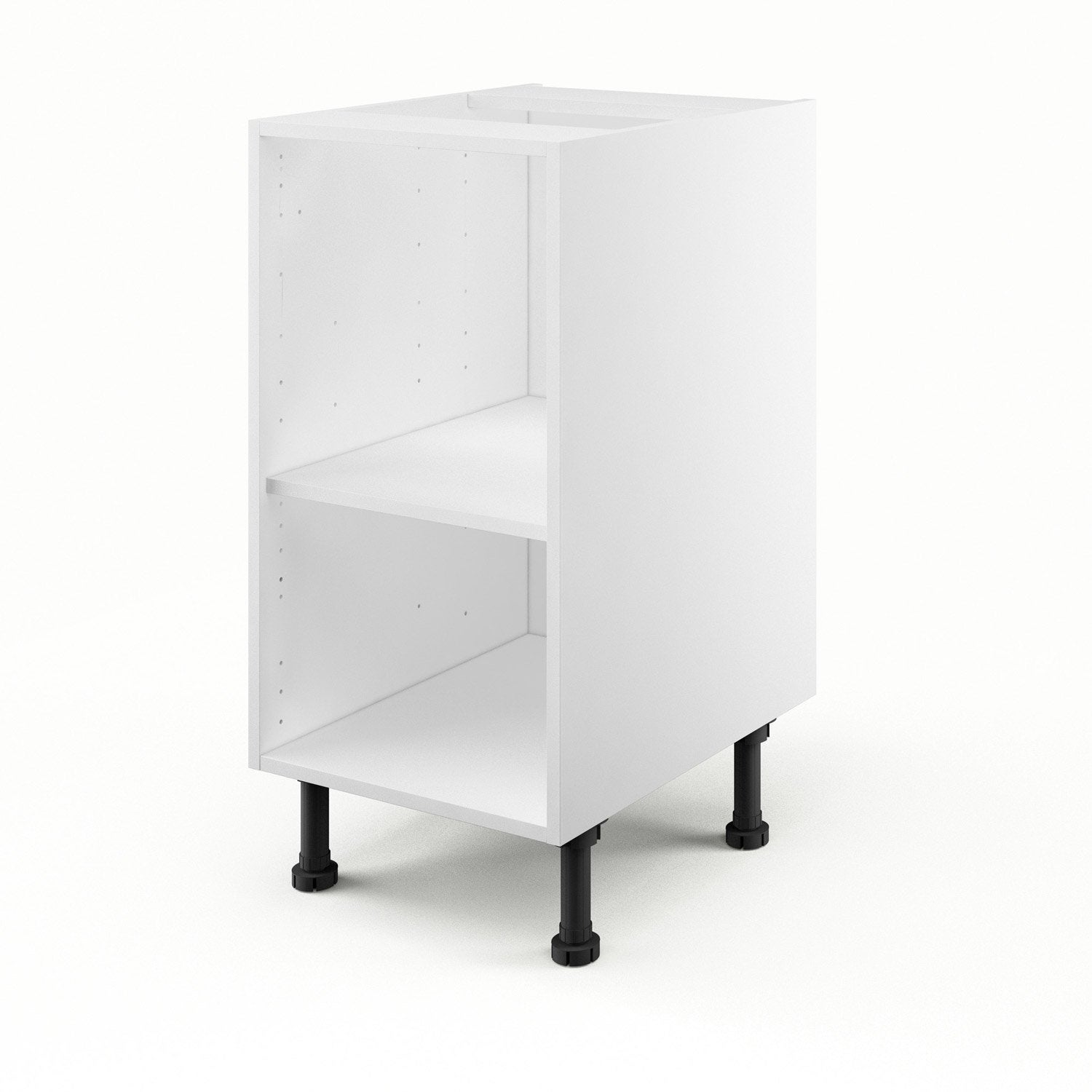 caisson de cuisine bas b40 delinia blanc x x p. Black Bedroom Furniture Sets. Home Design Ideas