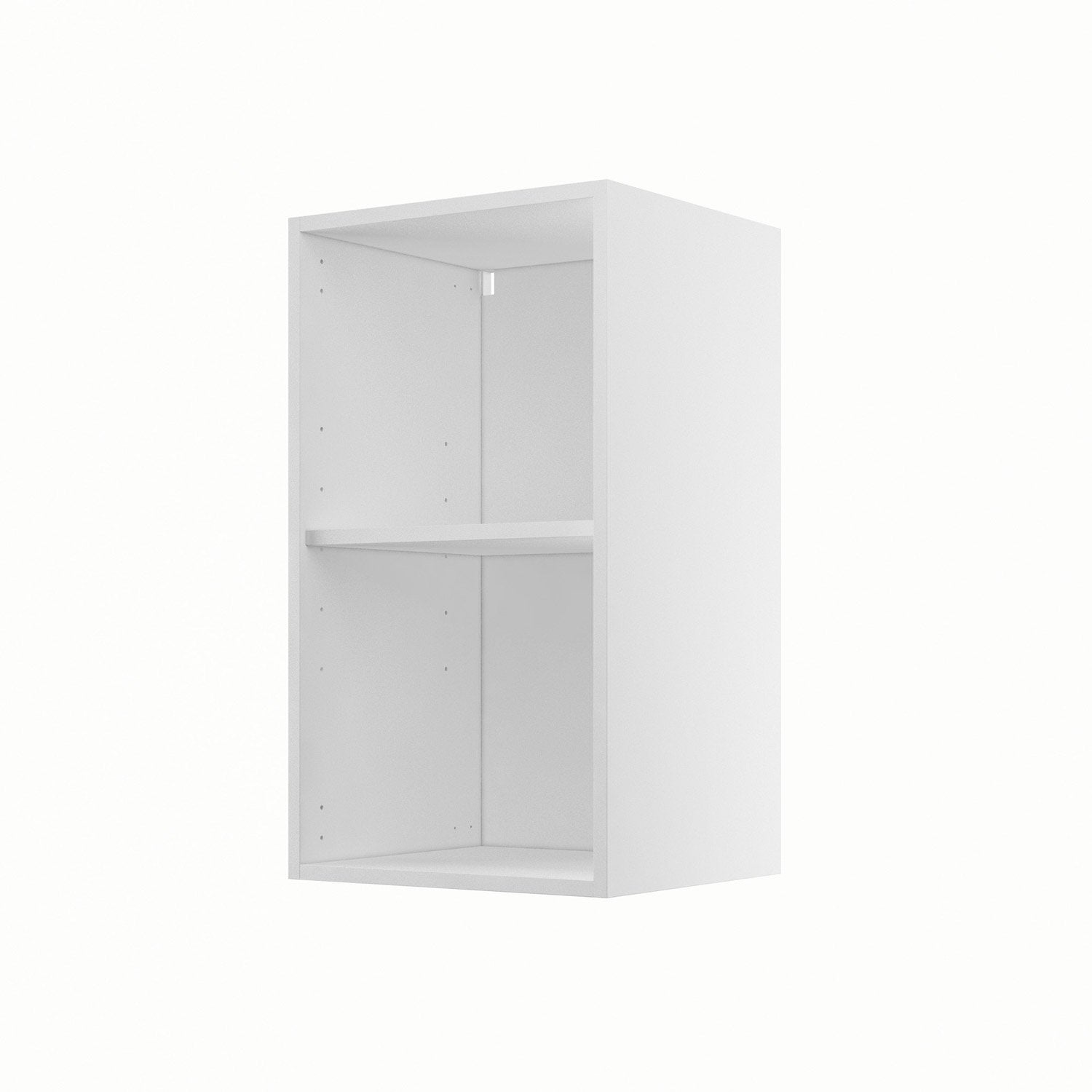 caisson de cuisine haut h40 70 delinia blanc l40 x h70 x p35 cm leroy merlin. Black Bedroom Furniture Sets. Home Design Ideas