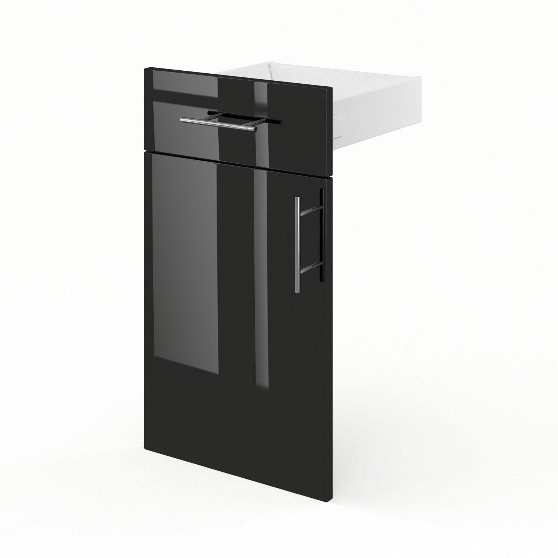 Porte tiroir de meuble de cuisine fd40 35 delinia rio l for Tiroir cuisine leroy merlin