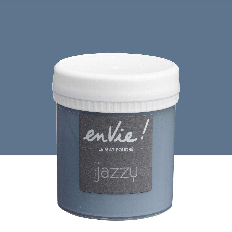 testeur peinture blues luxens envie collection jazzy. Black Bedroom Furniture Sets. Home Design Ideas