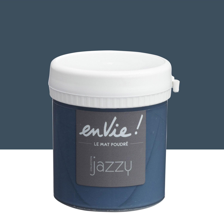 Testeur peinture note bleue luxens envie collection jazzy for Collection maison leroy merlin