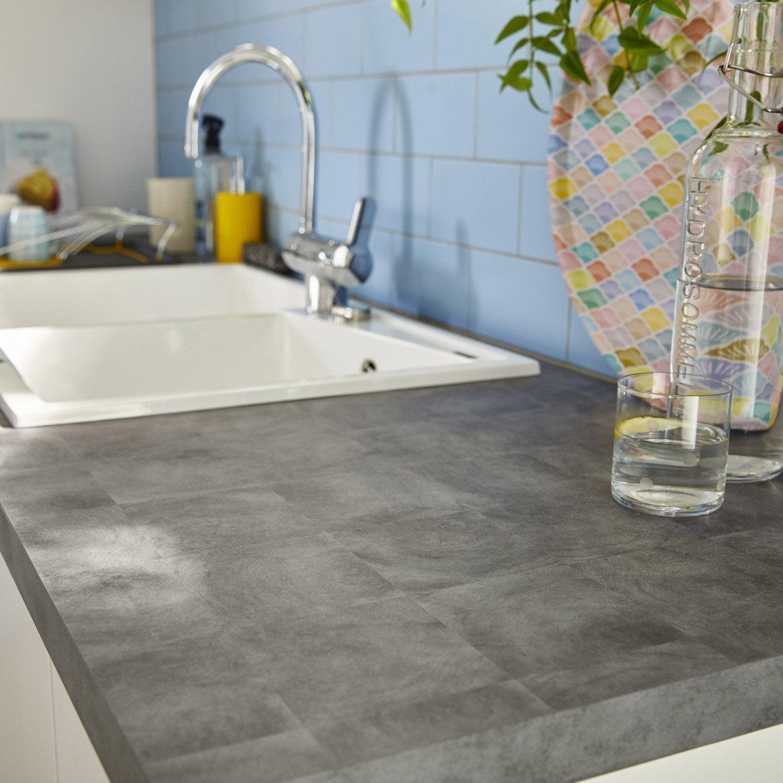 plan de travail stratifi effet bois naturel mat. Black Bedroom Furniture Sets. Home Design Ideas