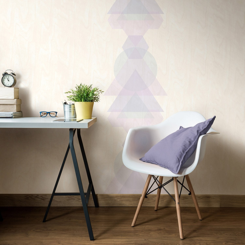 papier peint intiss oslo bois naturel leroy merlin. Black Bedroom Furniture Sets. Home Design Ideas