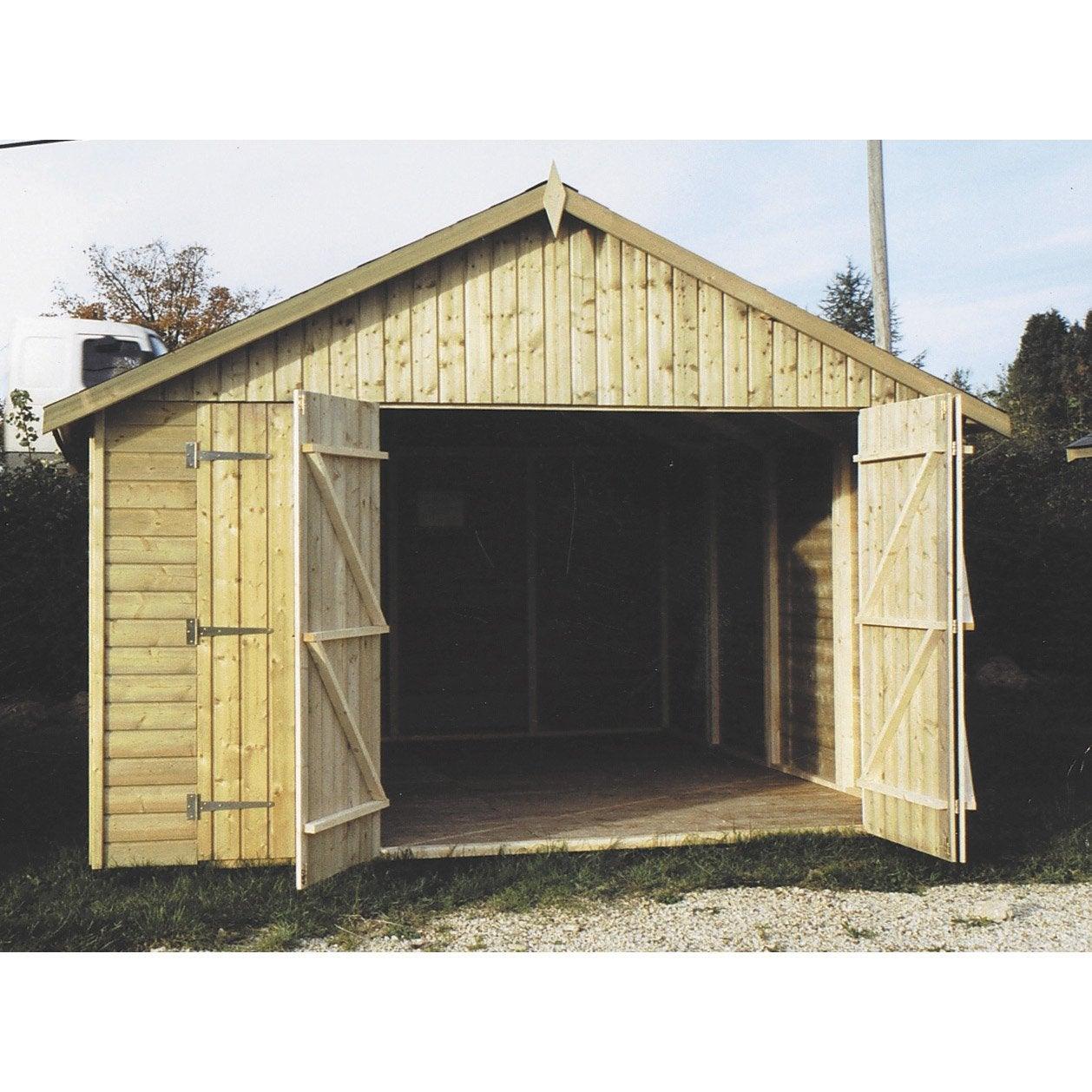 Garage en bois leroy merlin - Garage en bois leroy merlin ...