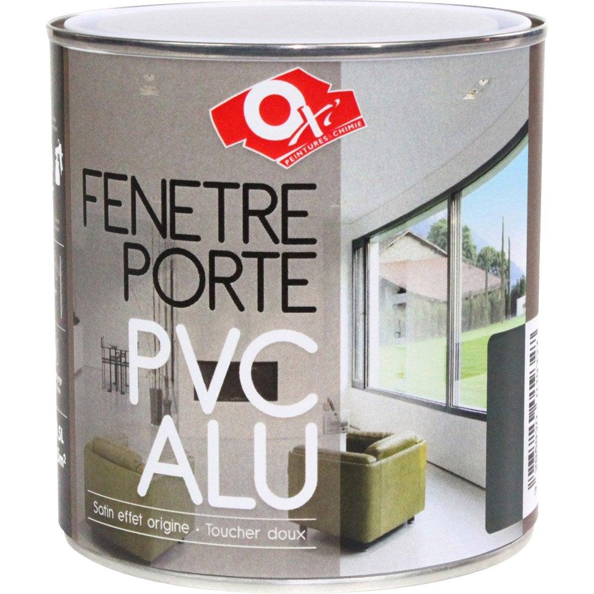 Peinture pvc aluminium int rieur grafite 0 5 l leroy merlin - Peinture pvc leroy merlin ...