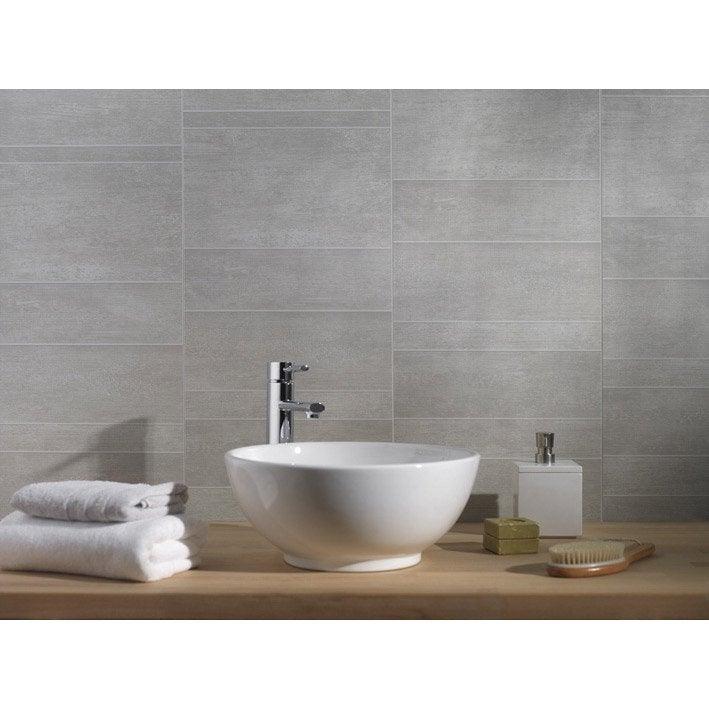 Panneau mural salle de bain imitation carrelage salle de - Lambris pvc salle de bain ...