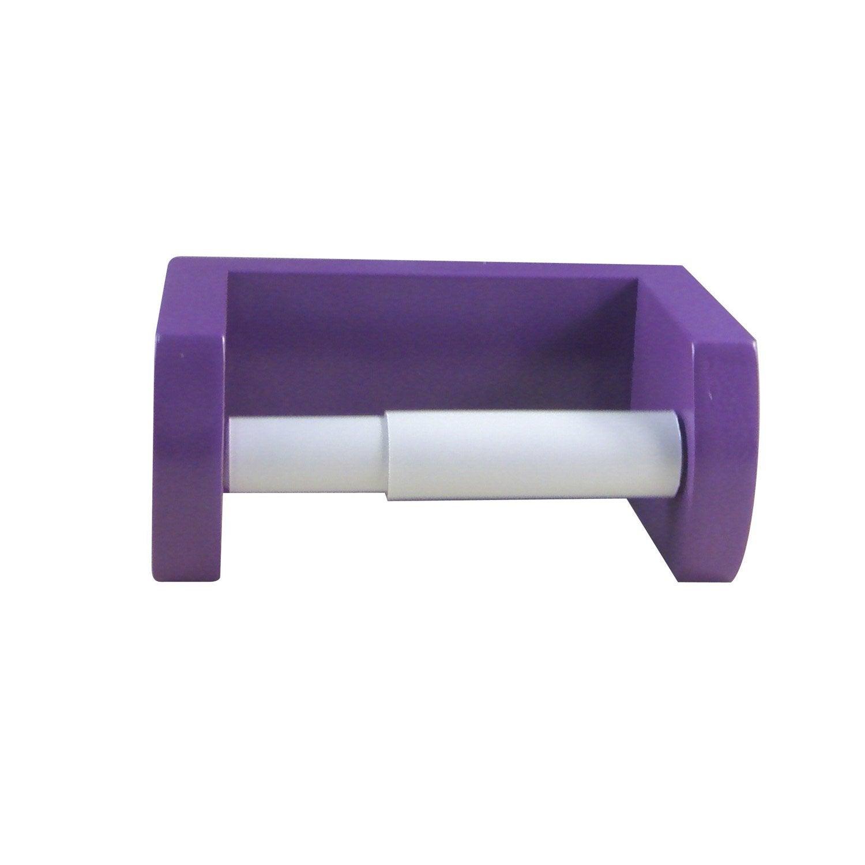d rouleur papier wc young violet leroy merlin. Black Bedroom Furniture Sets. Home Design Ideas