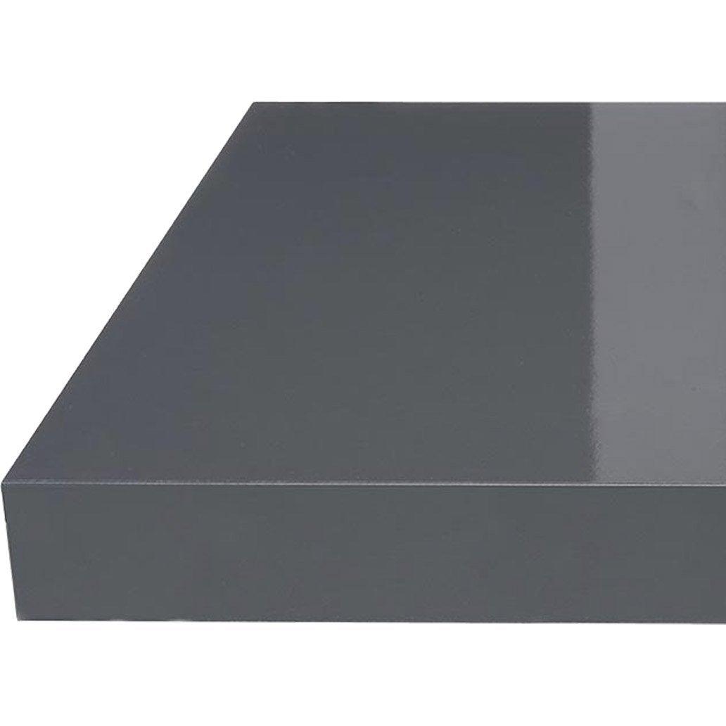 Plan de travail droit stratifi gris 315 x 65 cm p 38 mm leroy merlin - Leroy merlin stratifie ...