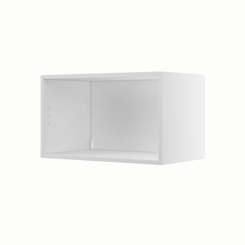 caisson de cuisine haut h60 35 delinia blanc x x. Black Bedroom Furniture Sets. Home Design Ideas