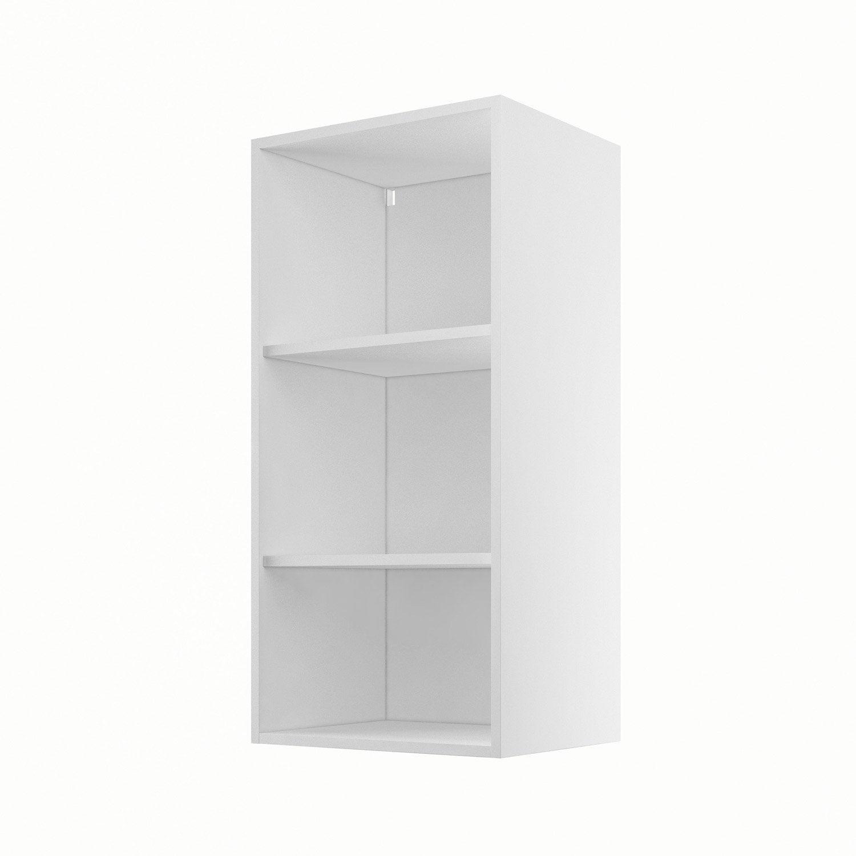 caisson de cuisine haut h45 92 delinia blanc x x. Black Bedroom Furniture Sets. Home Design Ideas