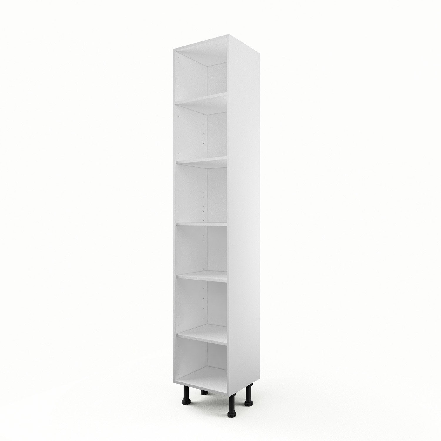caisson de cuisine armoire a40 delinia blanc x x cm leroy merlin. Black Bedroom Furniture Sets. Home Design Ideas
