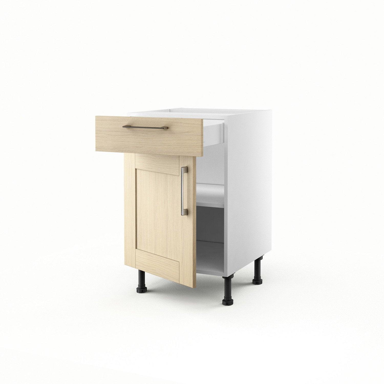 peinture pour meuble de cuisine en chene cuisine sol gris. Black Bedroom Furniture Sets. Home Design Ideas