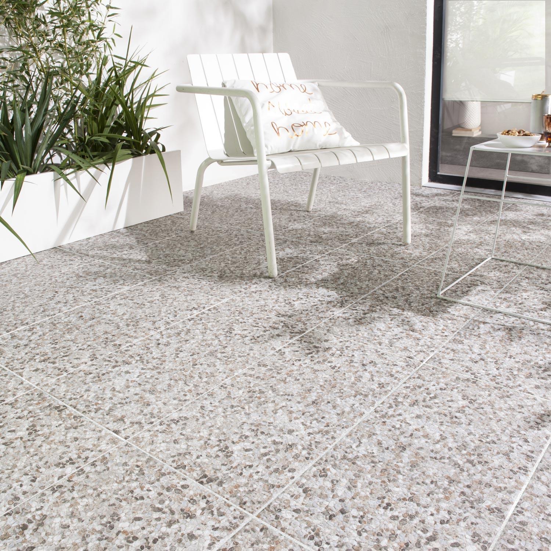 carrelage sol beige effet pierre poucet l 30 x l 60 cm leroy merlin