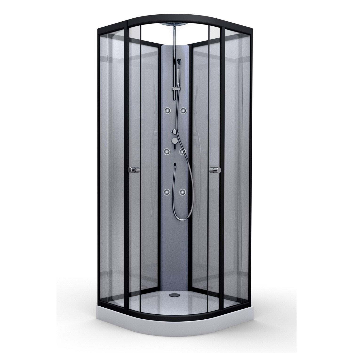 cabine de douche 75x75 pas cher avec leroy merlin brico. Black Bedroom Furniture Sets. Home Design Ideas