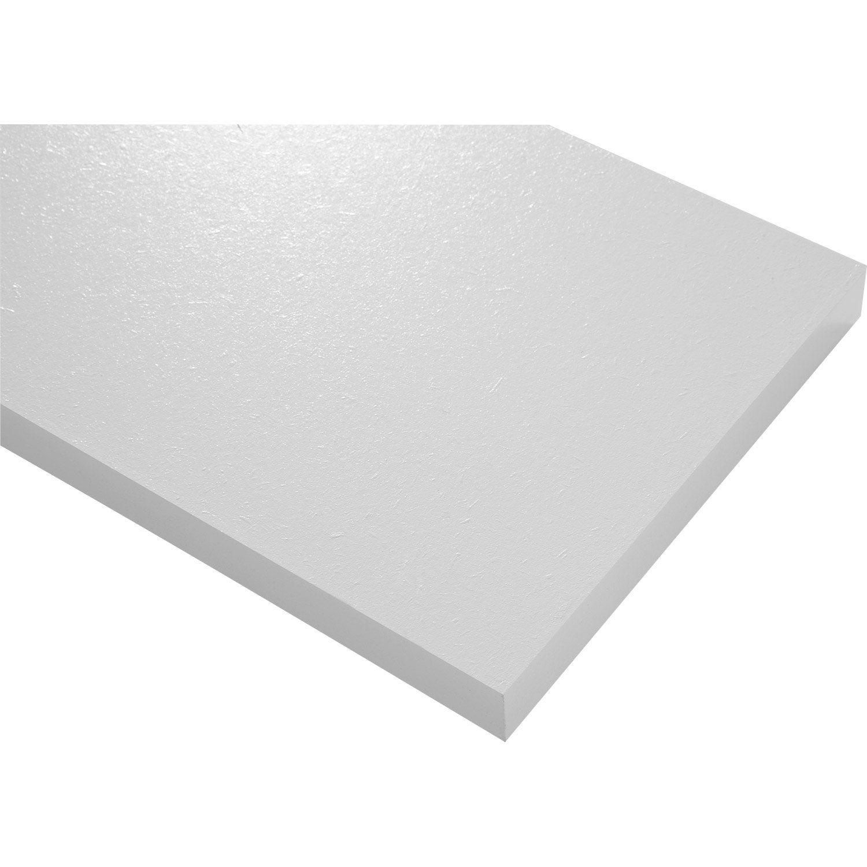 tablette blanc blanc n 0 punch spaceo x cm p. Black Bedroom Furniture Sets. Home Design Ideas