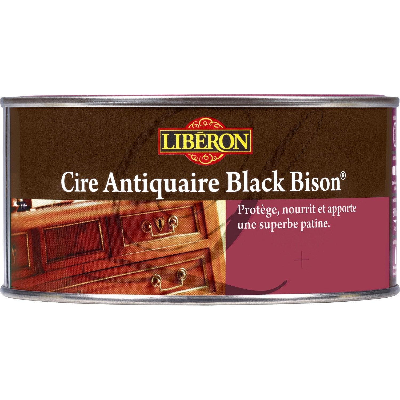 cire en p te meuble et objets blackbison liberon patin incolore 0 5l leroy merlin. Black Bedroom Furniture Sets. Home Design Ideas
