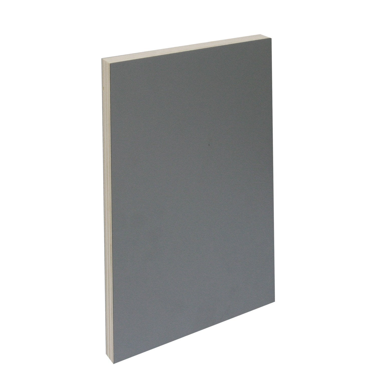 Panneau agglom r int rieur gris galet n 5 250 x 122cm x p 19 mm leroy me - Leroy merlin agglomere ...
