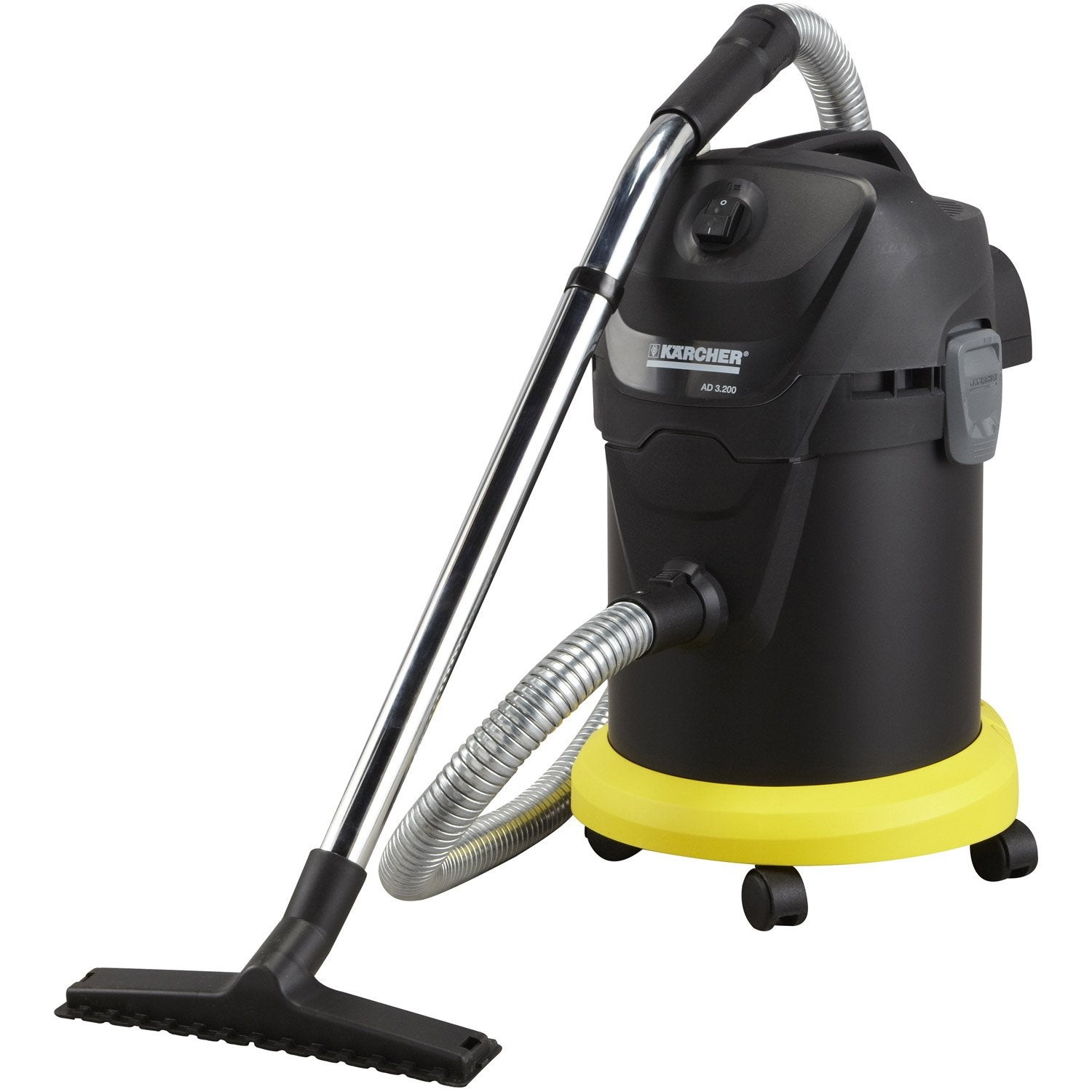aspirateur de cendres karcher ad 3000 premium 17 l leroy merlin. Black Bedroom Furniture Sets. Home Design Ideas