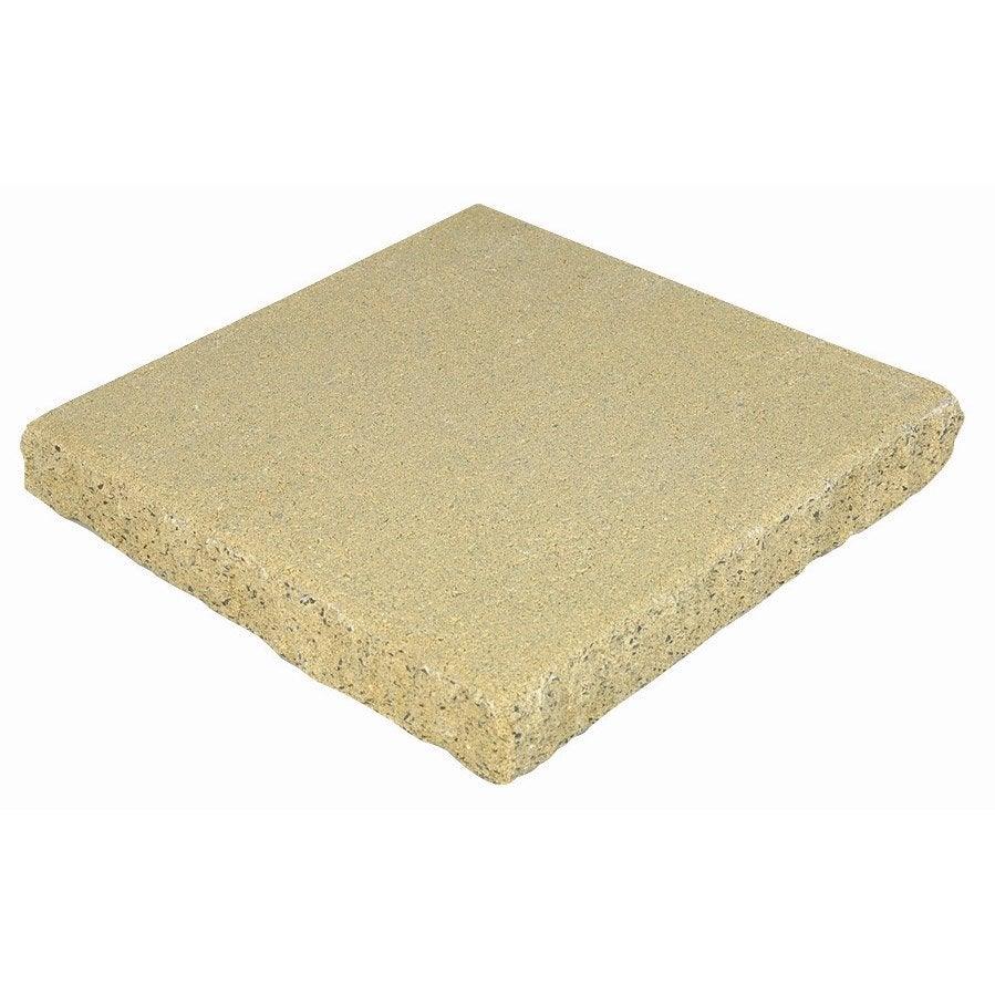 chapeau de pilier plein air en b ton coloris jaune 5x35x35 cm leroy merlin. Black Bedroom Furniture Sets. Home Design Ideas