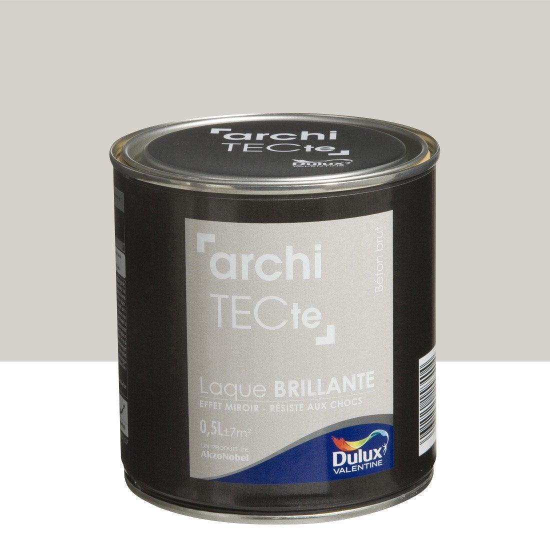 peinture gris b ton brut dulux valentine architecte 0 5 l. Black Bedroom Furniture Sets. Home Design Ideas