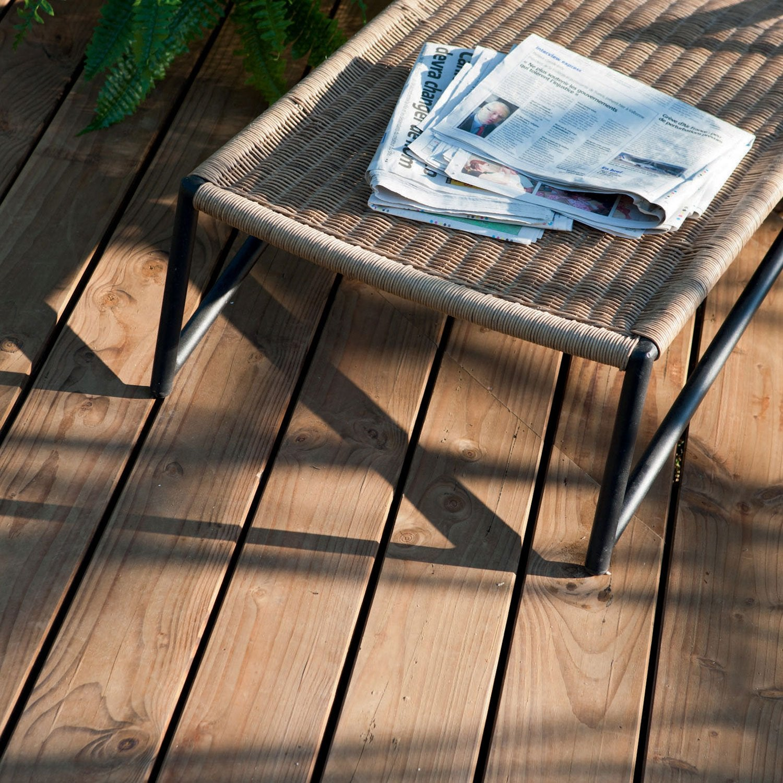 planche bois douglas naterial marron x cm x. Black Bedroom Furniture Sets. Home Design Ideas