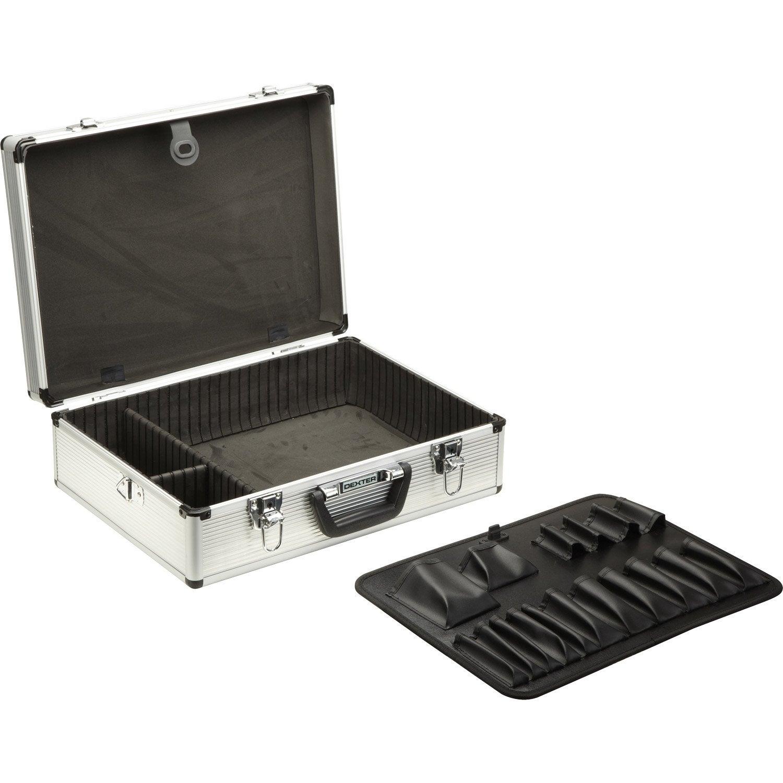 Valise outils dexter cm leroy merlin for Malette aluminium leroy merlin
