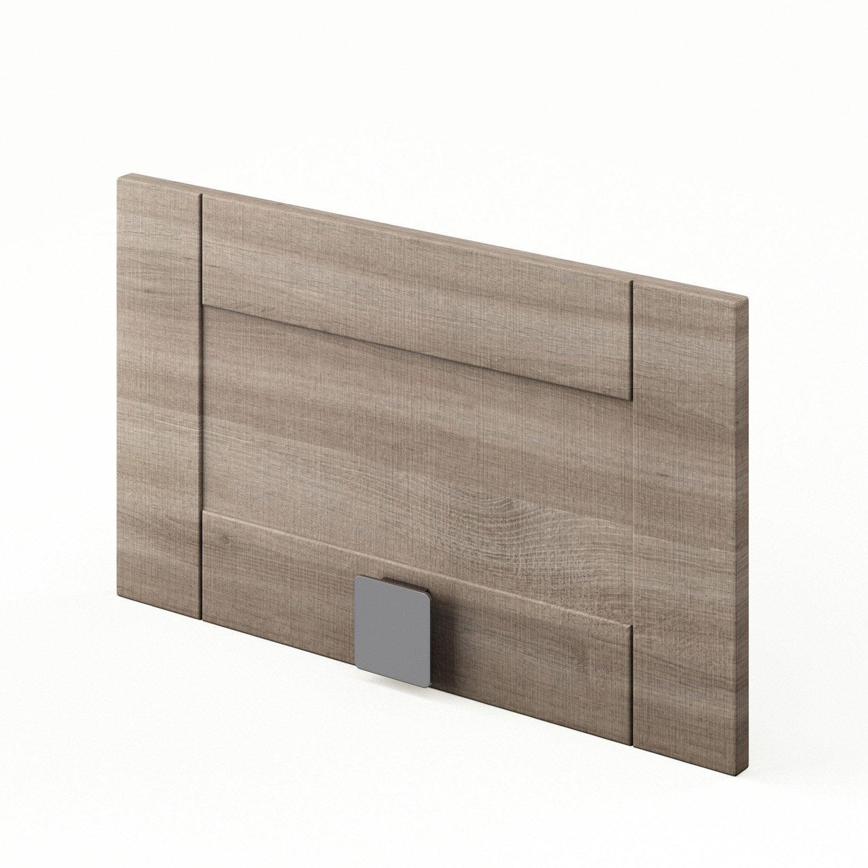 tiroir sous lave vaisselle d cor ch ne blanchi ddsh60 karrey l60xh35xp56cm leroy merlin. Black Bedroom Furniture Sets. Home Design Ideas