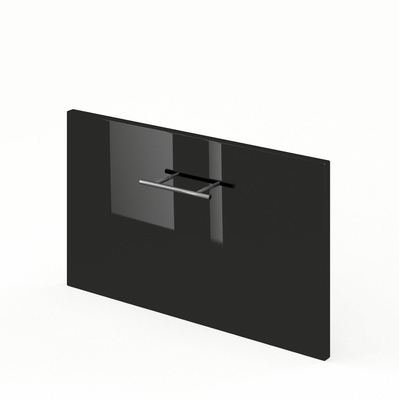 tiroir sous lave vaisselle de cuisine noir ddsh60 rio l60xh35xp56cm leroy merlin. Black Bedroom Furniture Sets. Home Design Ideas