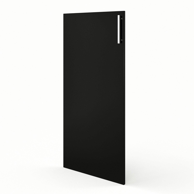 Porte 1 2 colonne de cuisine noir d lice x cm for Porte 60 x 180