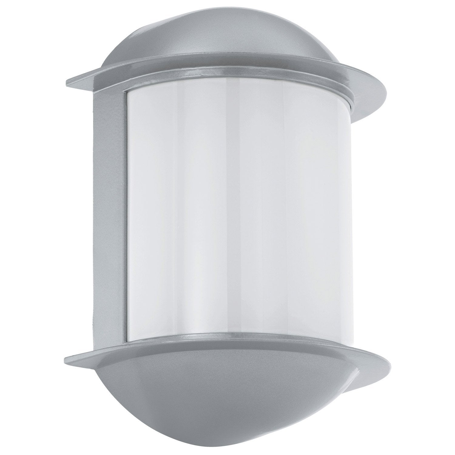 Applique ext rieure isoba gx53 500 lm gris eglo leroy - Guirlandes lumineuses exterieures leroy merlin ...