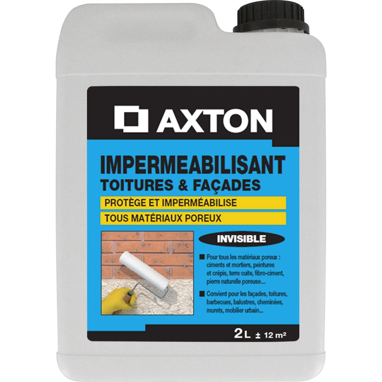 Imperm abilisant axton 2 l incolore leroy merlin for Impermeabilisant carrelage leroy merlin