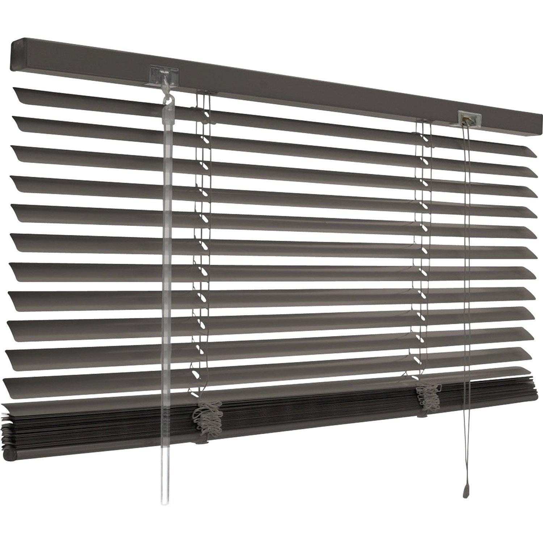 store v nitien aluminium inspire gris gris n 1 50x130 cm leroy merlin. Black Bedroom Furniture Sets. Home Design Ideas