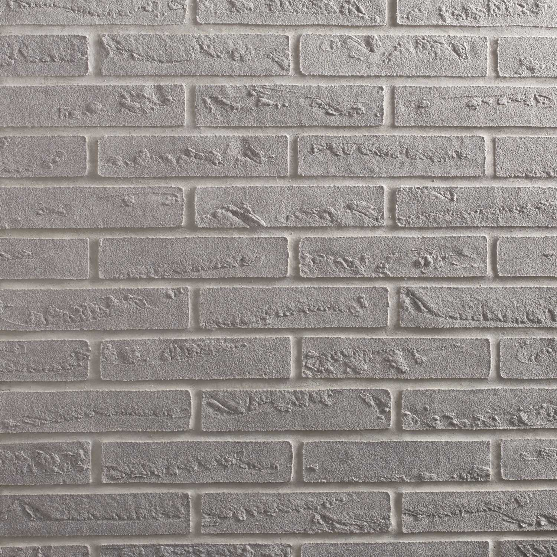 plaquette de parement gris clair elastolith leroy merlin. Black Bedroom Furniture Sets. Home Design Ideas