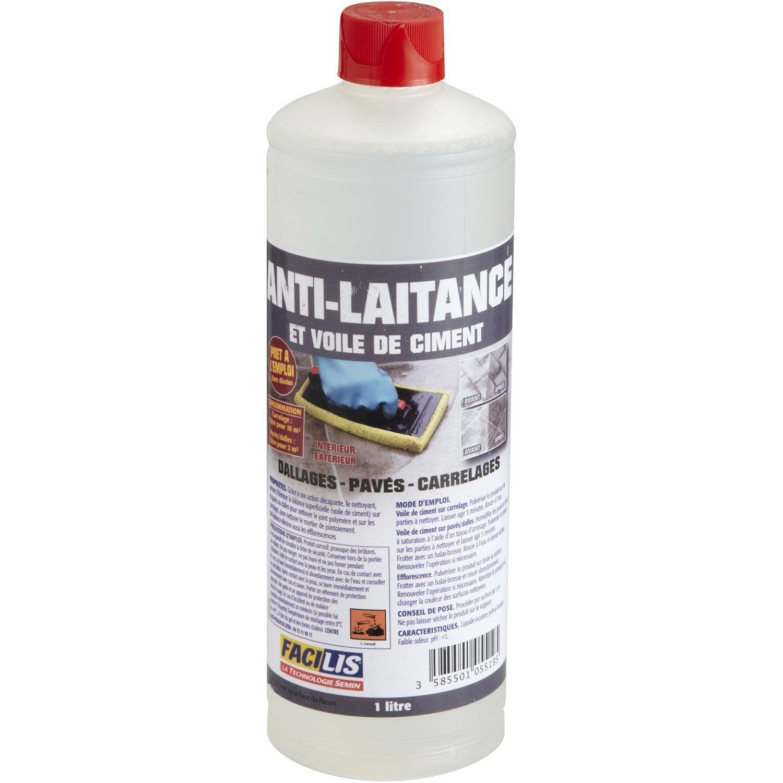 Antilaitance pour pierre naturelle 1 l leroy merlin for Produit anti glisse pour carrelage