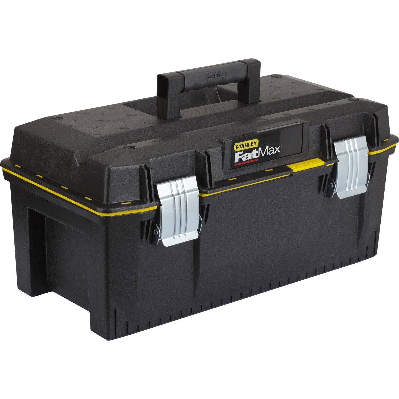 Bo te outils stanley en plastique 60 cm leroy merlin - Boite de rangement leroy merlin ...