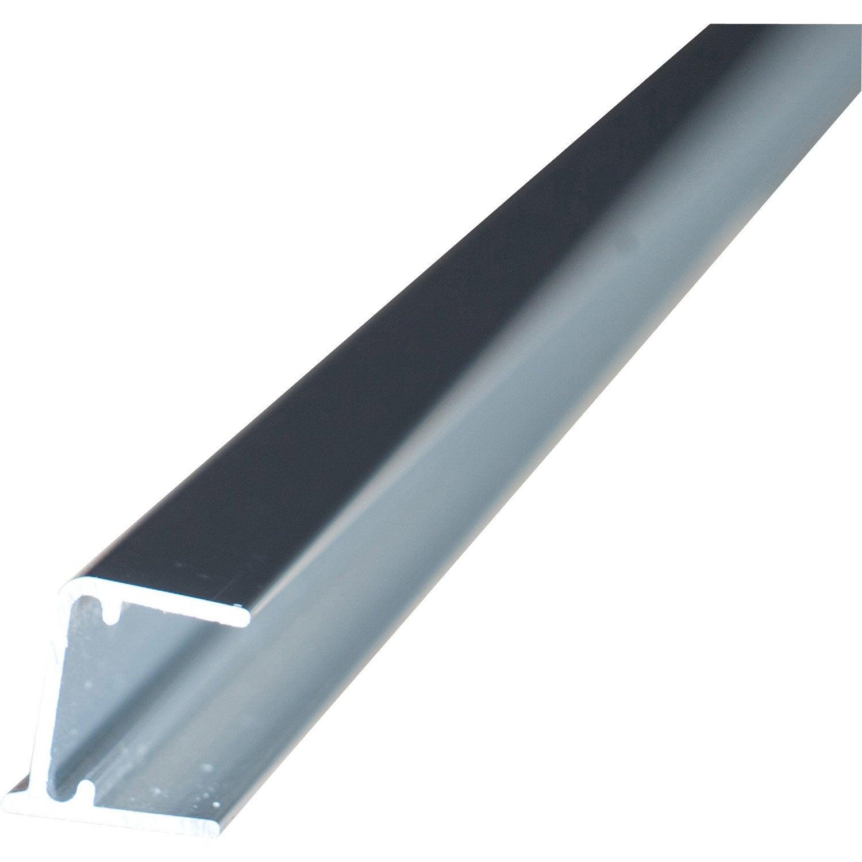 profil obturateur pour plaque ep 16 mm aluminium l 1 m leroy merlin. Black Bedroom Furniture Sets. Home Design Ideas
