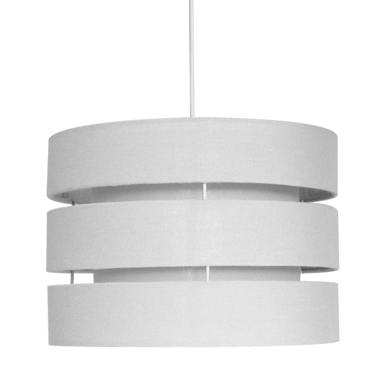 suspension e27 design darling lin blanc 1 x 40 w seynave leroy merlin. Black Bedroom Furniture Sets. Home Design Ideas