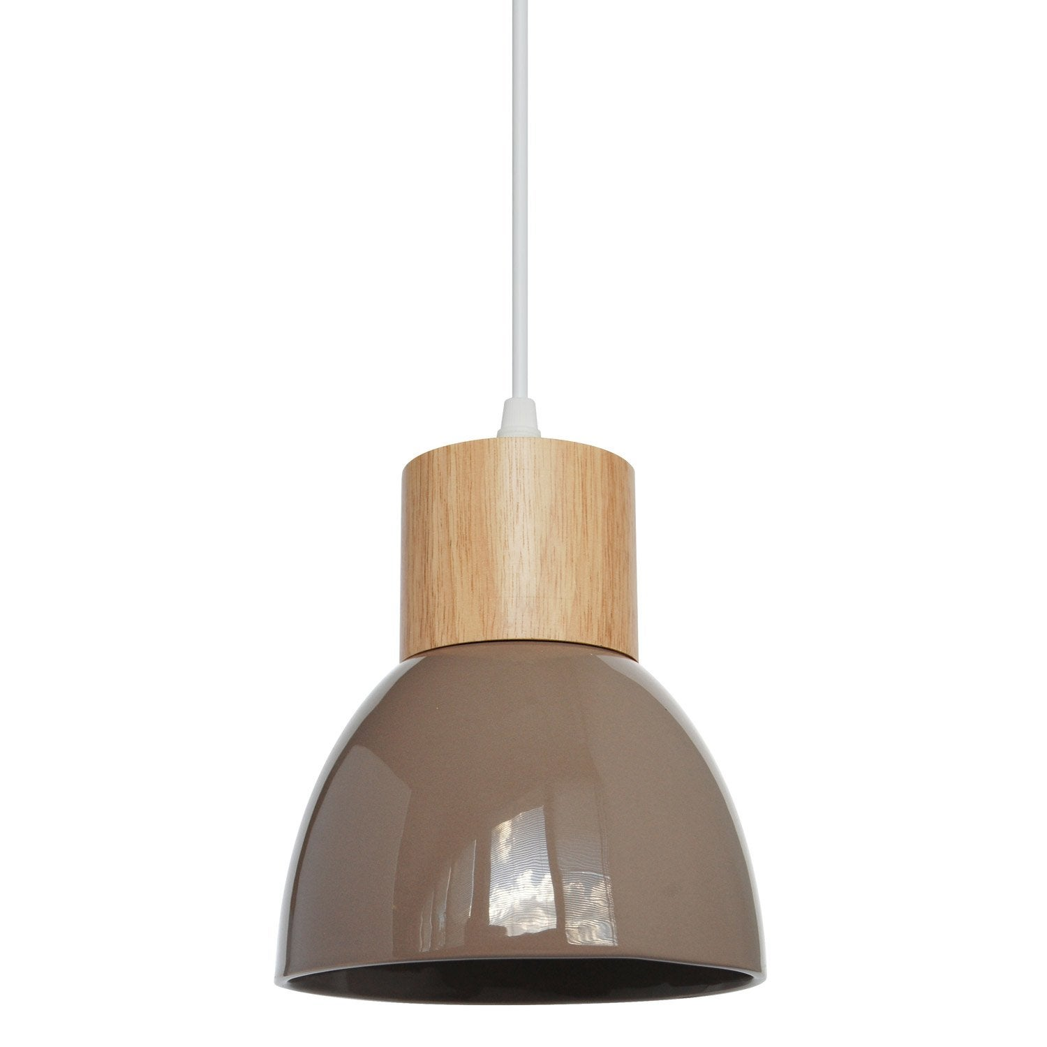 Suspension e14 design wilma c ramique chanvre 1 x 40 w seynave leroy merlin - Suspension new york leroy merlin ...