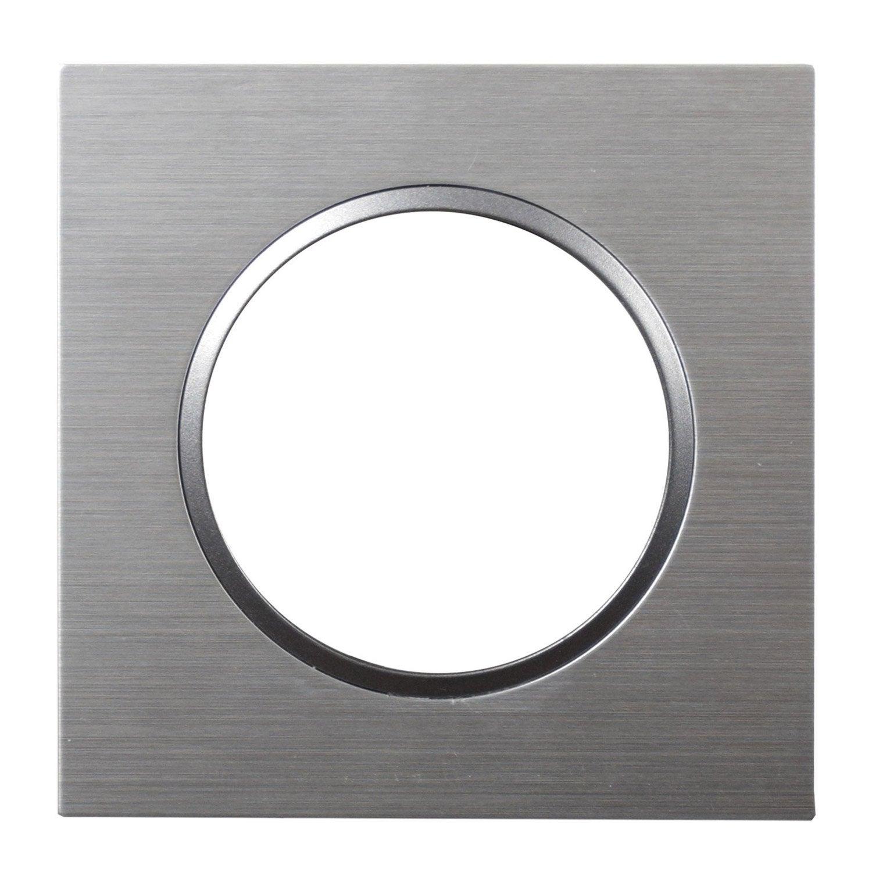 Plaque epure lexman aluminium bross bross leroy merlin - Plaque alu brosse ...