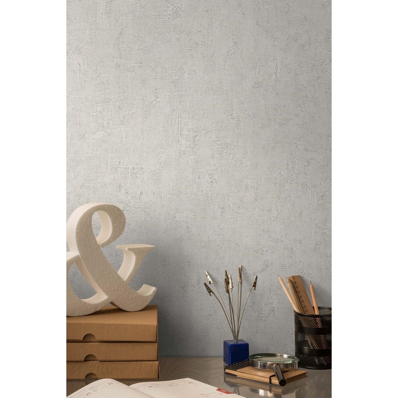 papier peint intiss patine cru leroy merlin. Black Bedroom Furniture Sets. Home Design Ideas