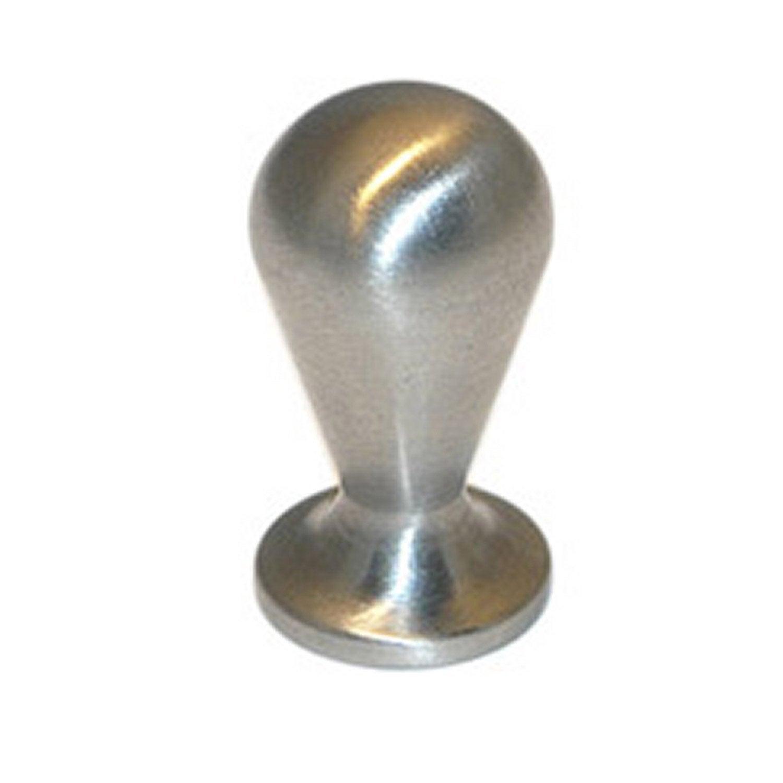 bouton de meuble olive acier bross leroy merlin. Black Bedroom Furniture Sets. Home Design Ideas