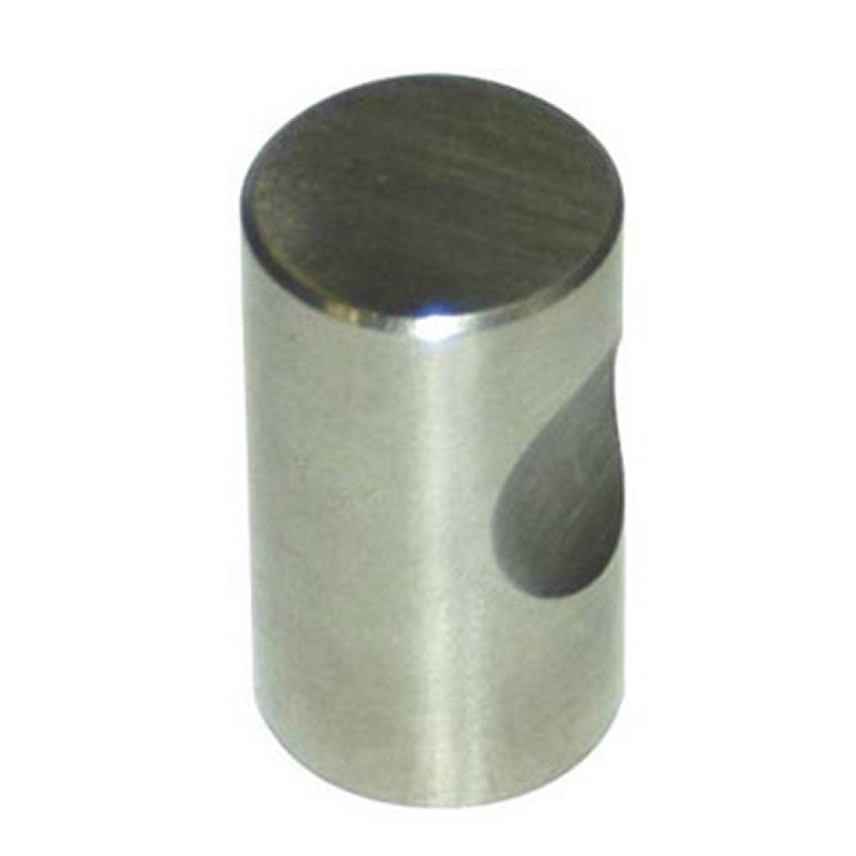 Bouton de meuble en acier bross s rie index leroy merlin - Brosse metallique leroy merlin ...